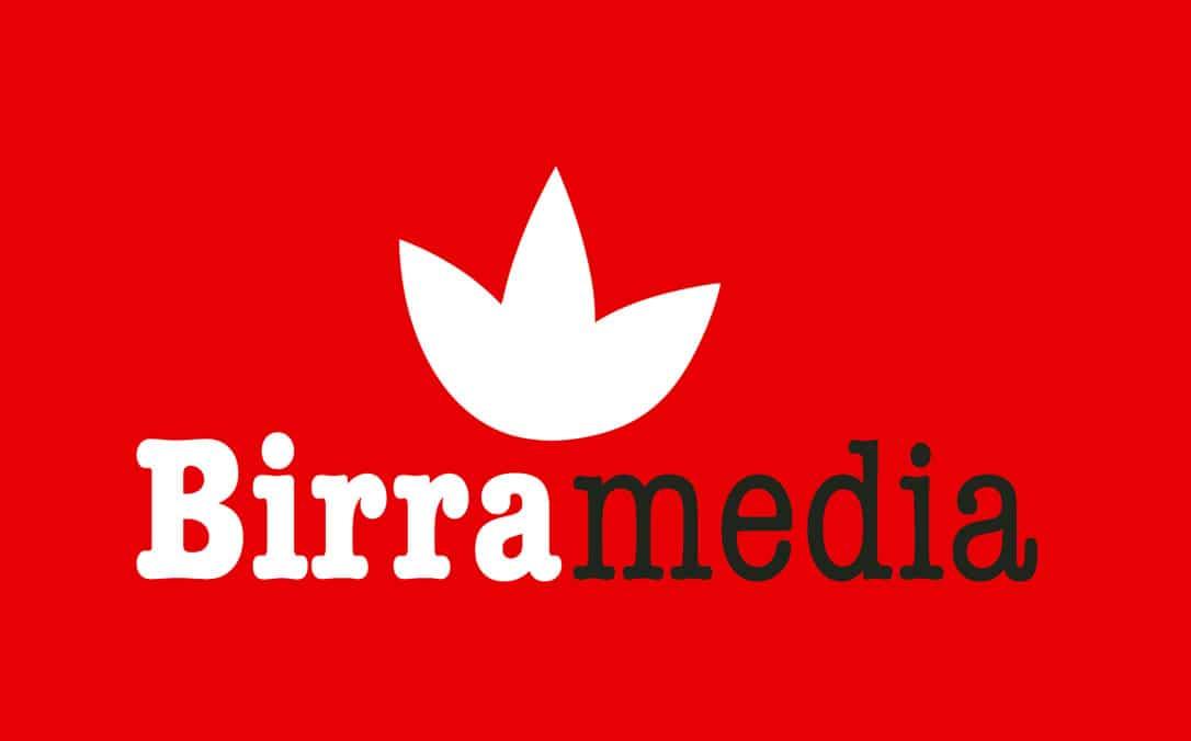Logo Birramedia marchio registrato da Rizomedia srl